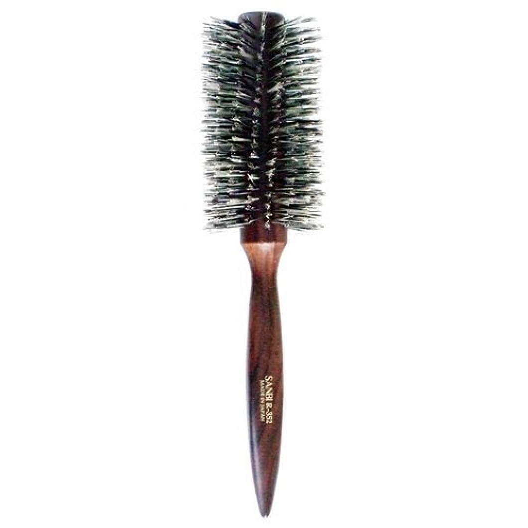 究極の蓄積するフリンジサンビー らせん植毛ロールブラシ R-352