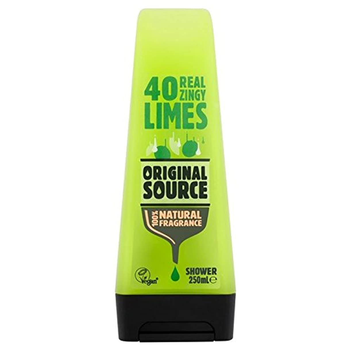 ゴシップ請願者変装した元のソースライムシャワージェル250ミリリットル x4 - Original Source Lime Shower Gel 250ml (Pack of 4) [並行輸入品]
