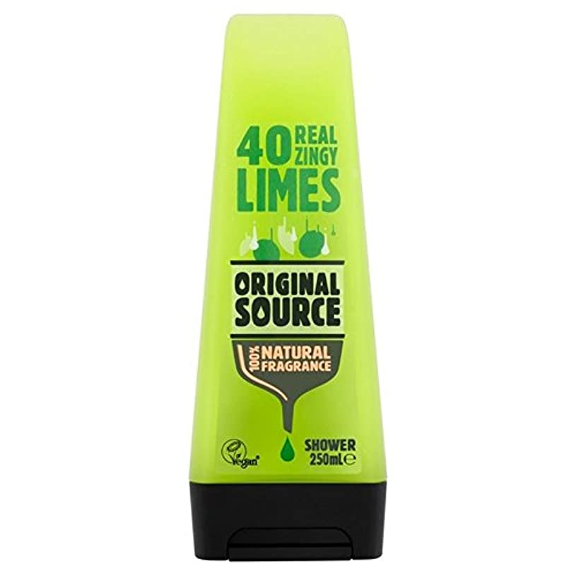 株式会社狐花輪Original Source Lime Shower Gel 250ml - 元のソースライムシャワージェル250ミリリットル [並行輸入品]