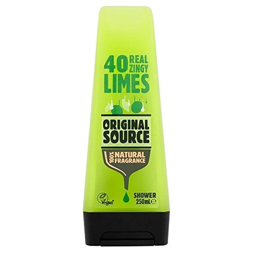 好ましい無法者おばあさん元のソースライムシャワージェル250ミリリットル x4 - Original Source Lime Shower Gel 250ml (Pack of 4) [並行輸入品]