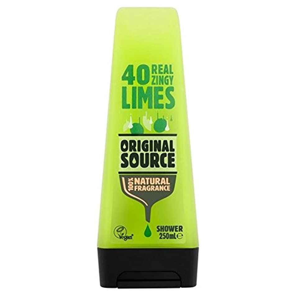 わずかに花束流用するOriginal Source Lime Shower Gel 250ml - 元のソースライムシャワージェル250ミリリットル [並行輸入品]