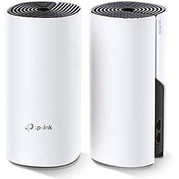 TP-Link メッシュ Wi-Fi システム 無線LANルータ― AC1200 867 + 300 Mbps デュアルバンド Deco M4 2ユニット ホワイト
