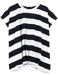 [神戸レタス] Tシャツ レディース ゆるT 半袖 裾タック入り フレンチスリーブ カットソー トップス [C2748]