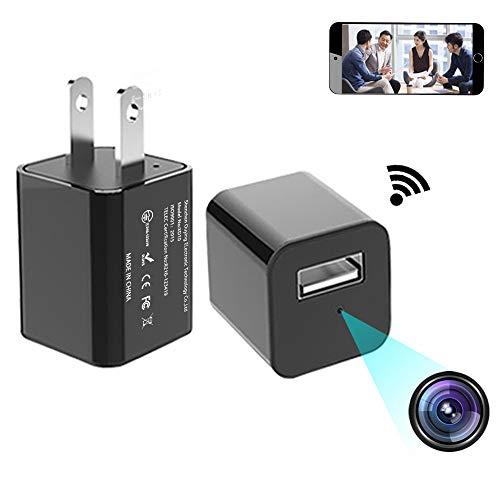 Wifi 隠しカメラ 1080P HD P2P 超小型カメラ...