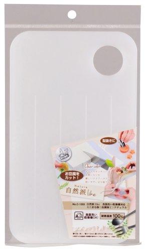 抗菌 ミニ まな板 ナチュラル 食洗機対応 自然派like 日本製 C-1005