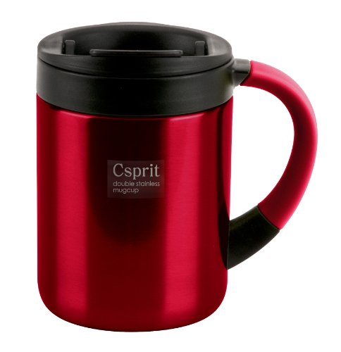 キャプテンスタッグ ダブルステンレスマグカップ