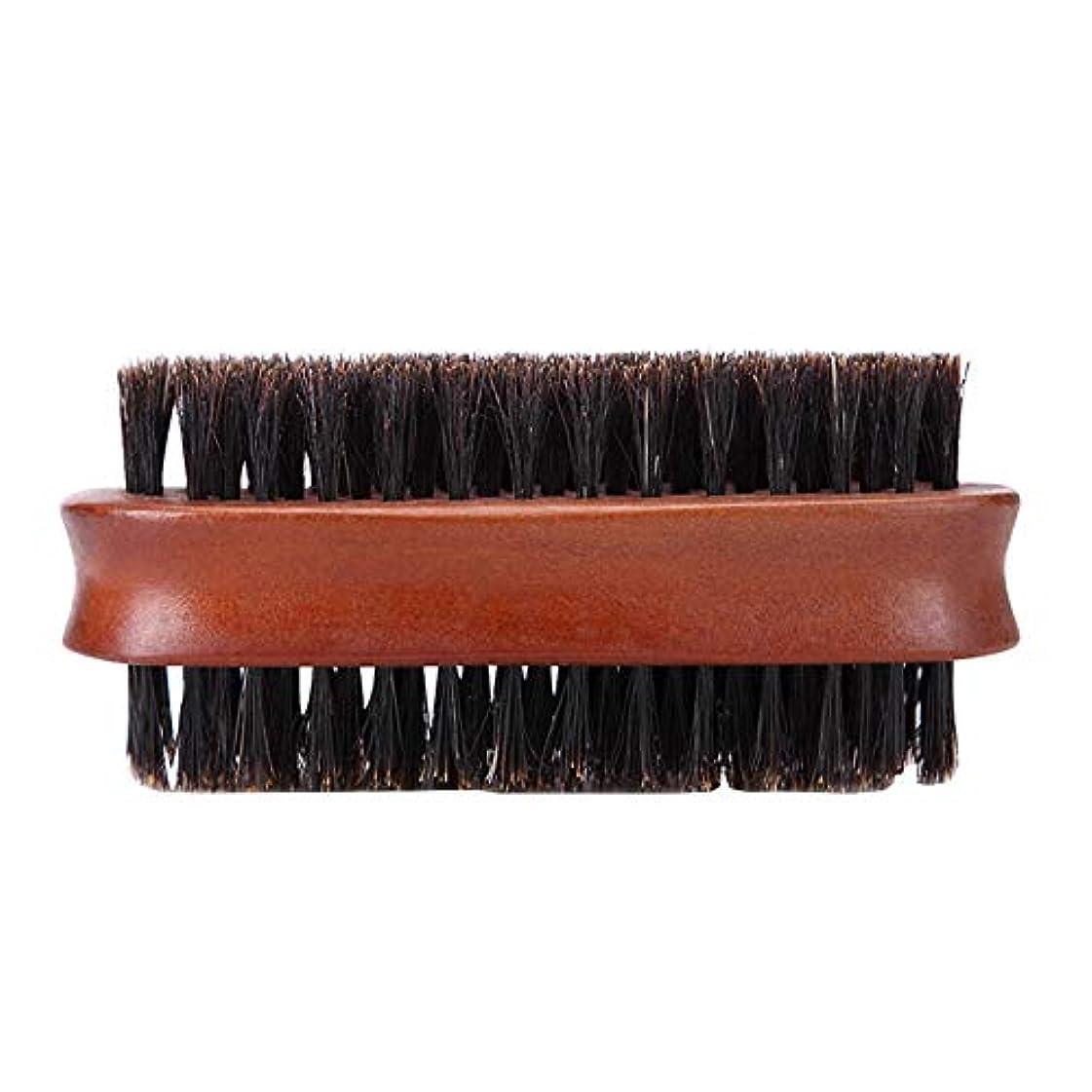 損なうフルーツ普通のメンズシェービングブラシ木製ブラシ髭ひげのスタイリング二国間のシェービング用品