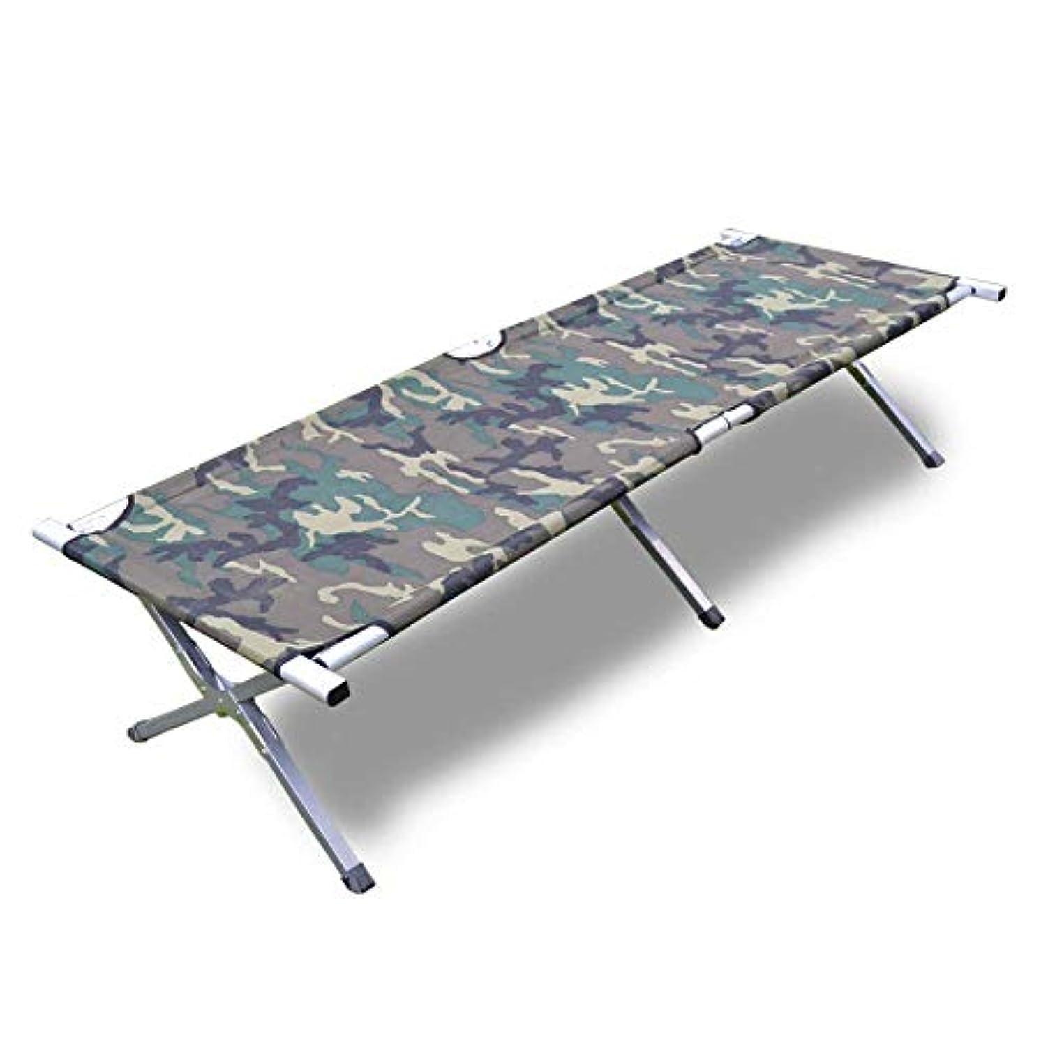 余裕がある毎日タイト屋外の折るベッドのキャンプの超軽量の容易な貯蔵のゲストのベッドの負荷150のKg +袋