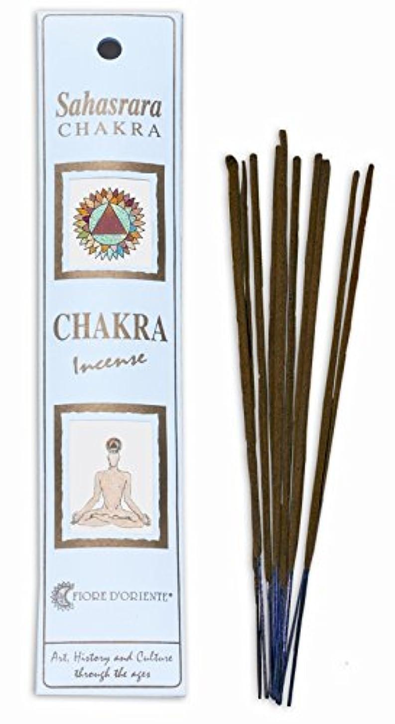 第四乱れ災害7th Chakra 100% Natural Incense Sticks - Sahasrara