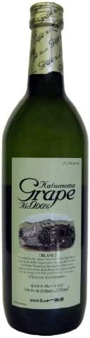 Katsunuma Grape Blanc [ ノンアルコール 720ml ]