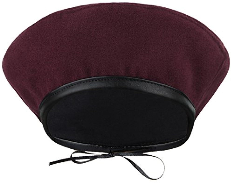 (ラボーグ)La Vogue ベレー帽 画家帽 レディース ガールズ 秋冬 キャスケット 女優帽 多色 無地 調節可能 カジュアル 可愛い 小顔効果 防寒 お出かけ