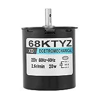 同期電動機、68KTYZ AC220V 28W 2.5 20 30 110r / min永久磁石同期ギヤモーターCW/CCW(2.5)