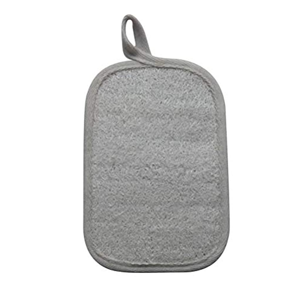仕出します静かなバンカーHEALIFTY シャワーのための自然なLoofahのスポンジパッドの風呂の剥離Loofahのスポンジのスクラバー