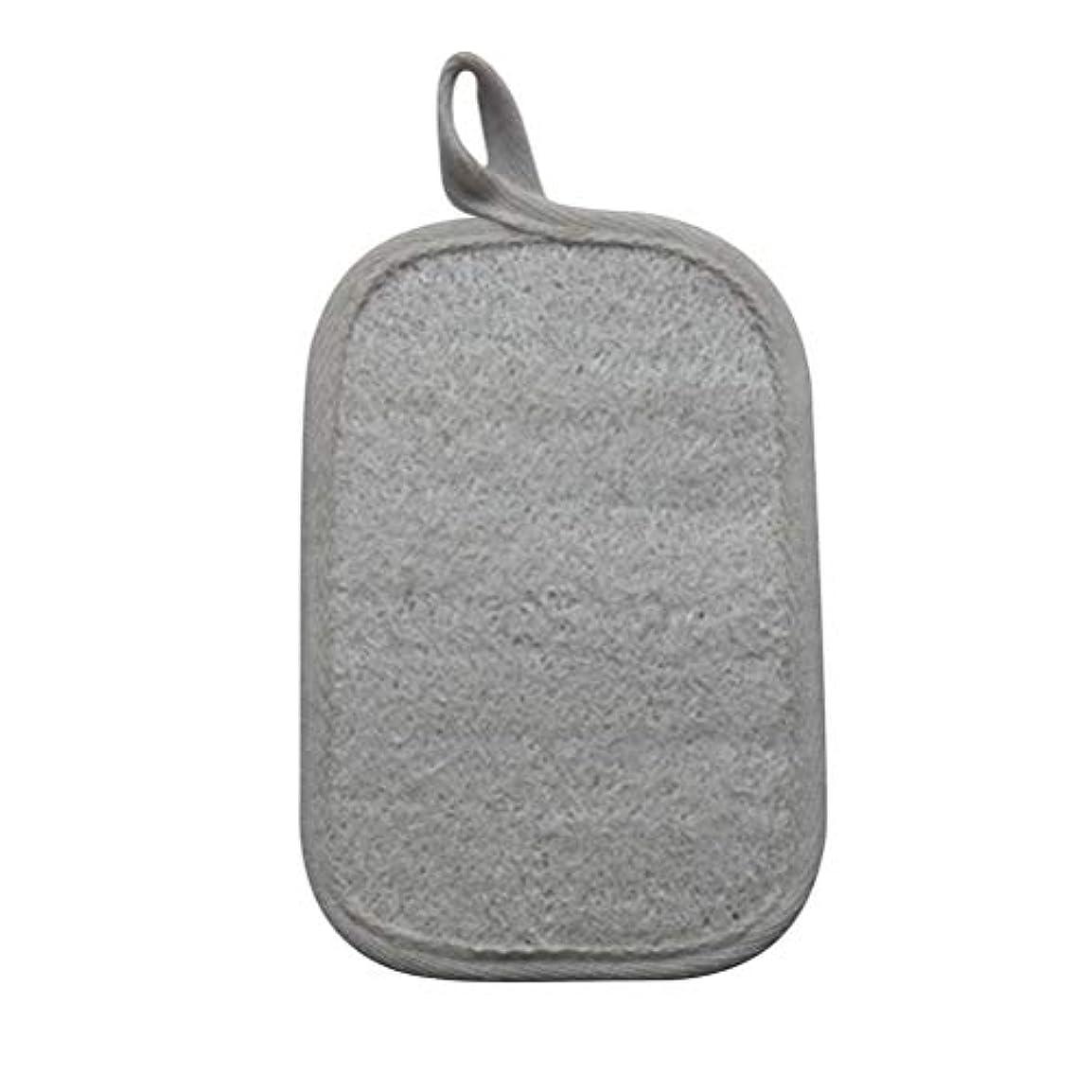 Healifty シャワーのための自然なLoofahのスポンジパッドの風呂の剥離のスポンジのスクラバーのブラシ