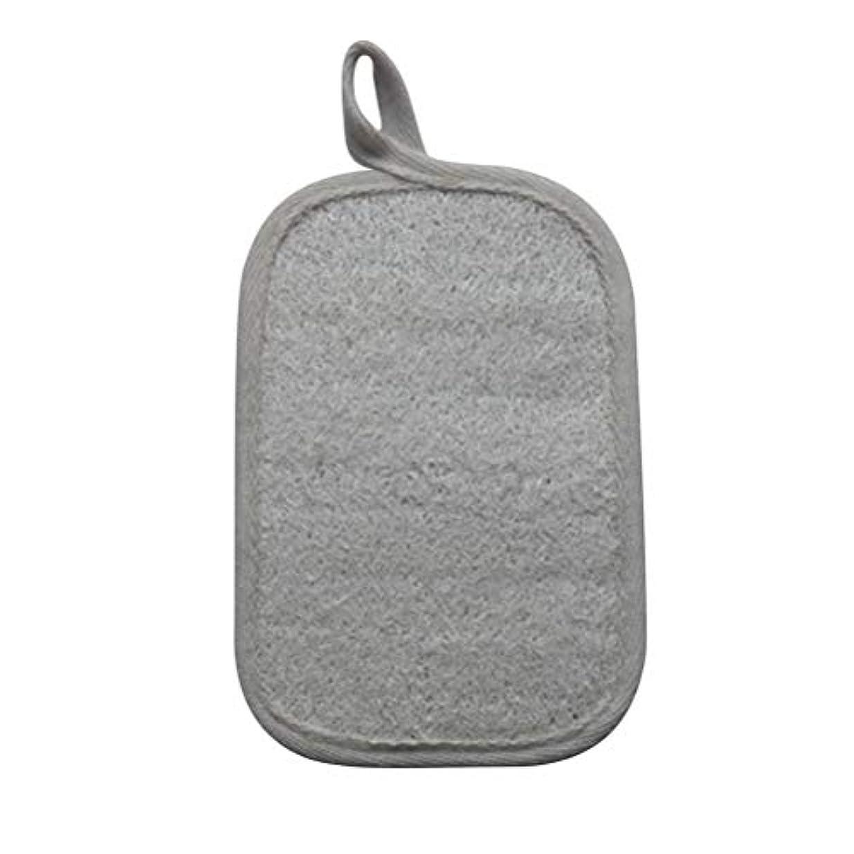 伸ばすエレクトロニックストレスHealifty シャワーのための自然なLoofahのスポンジパッドの風呂の剥離のスポンジのスクラバーのブラシ