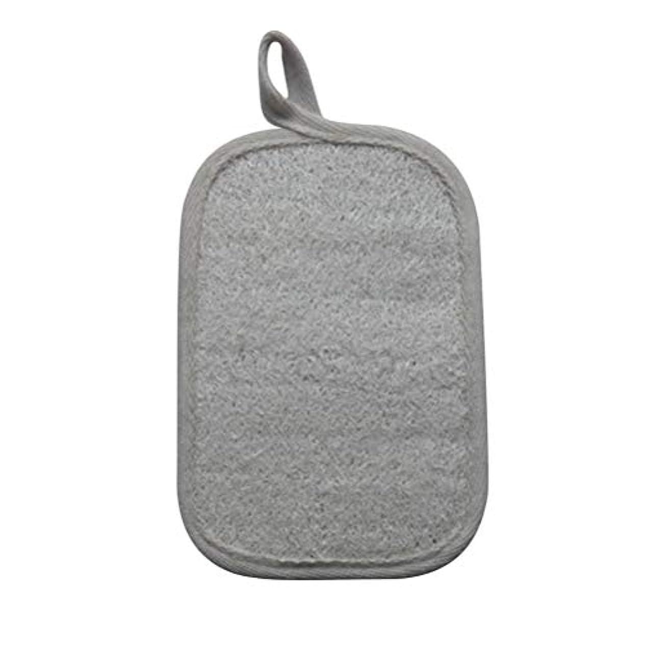 着飾る持続的応じるSUPVOX Loofahスポンジパッド剥離スクラブスポンジバスシャワースクラバーLoofa手袋