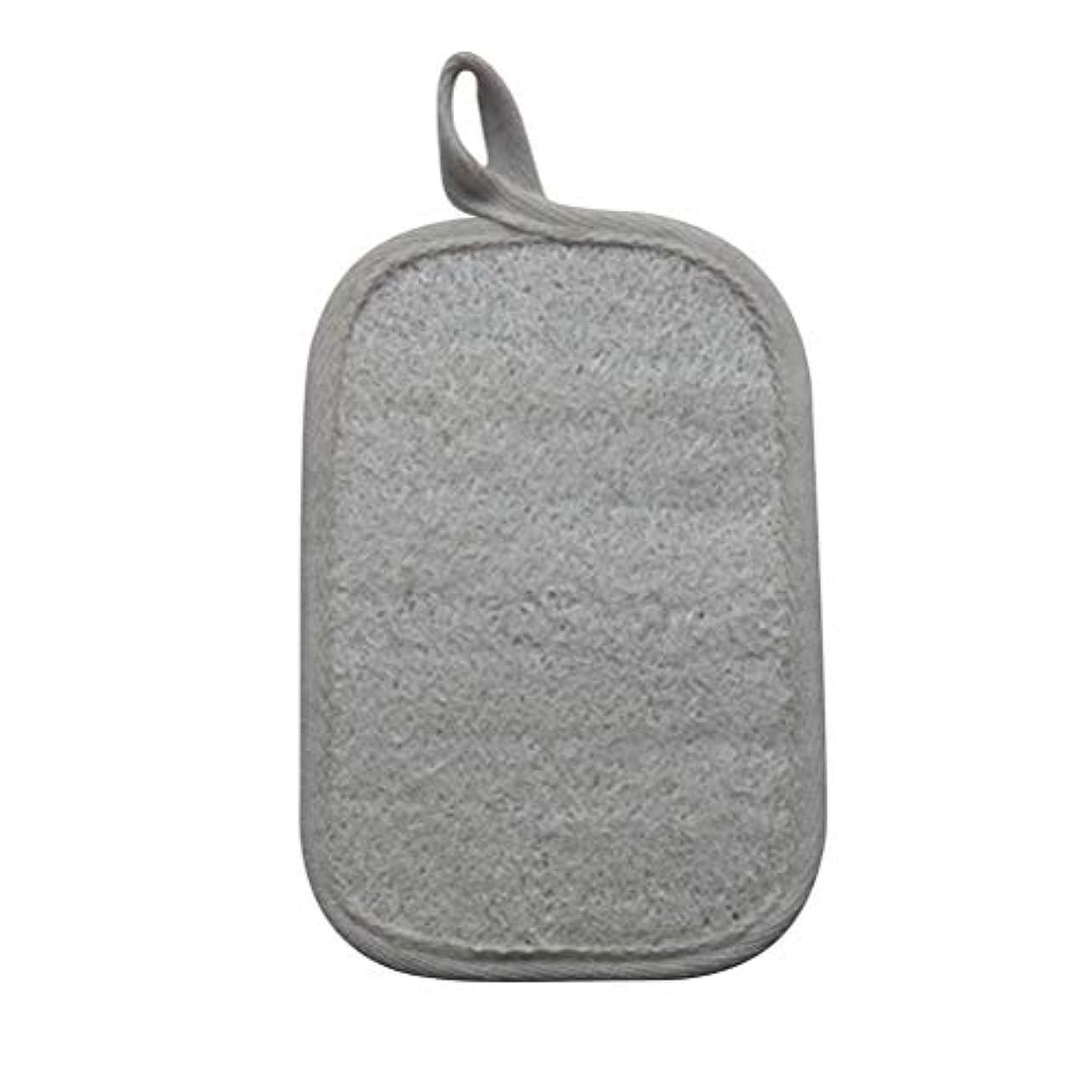 北米バルブ勇気のあるHEALIFTY シャワーのための自然なLoofahのスポンジパッドの風呂の剥離Loofahのスポンジのスクラバー