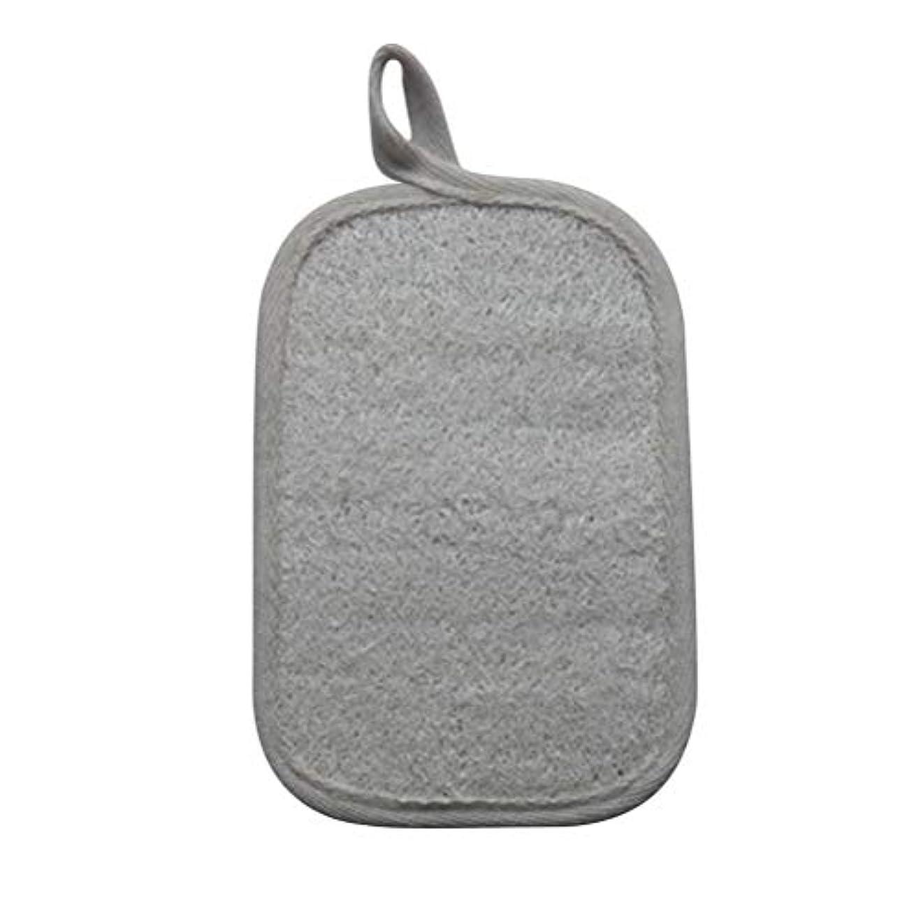 たくさんの暖かさ謝罪SUPVOX Loofahスポンジパッド剥離スクラブスポンジバスシャワースクラバーLoofa手袋