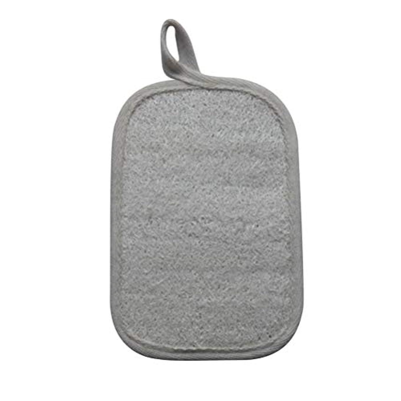 チラチラする有効収縮HEALIFTY シャワーのための自然なLoofahのスポンジパッドの風呂の剥離Loofahのスポンジのスクラバー