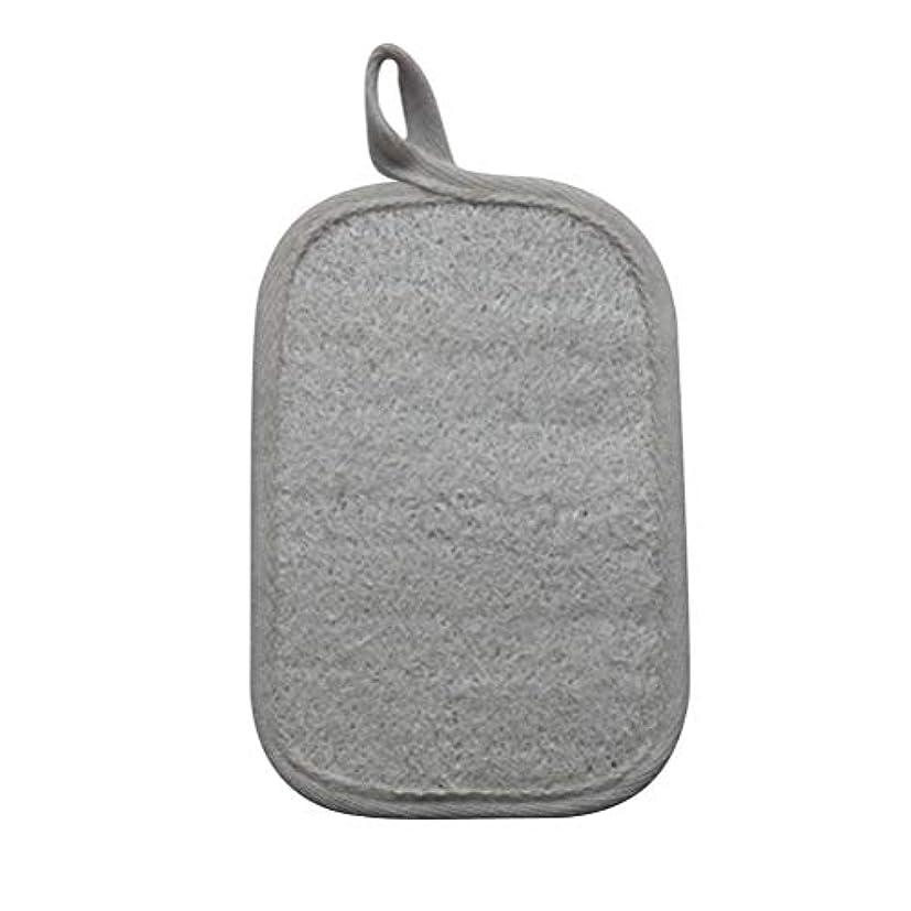 感染する靄古くなったHealifty シャワーのための自然なLoofahのスポンジパッドの風呂の剥離のスポンジのスクラバーのブラシ