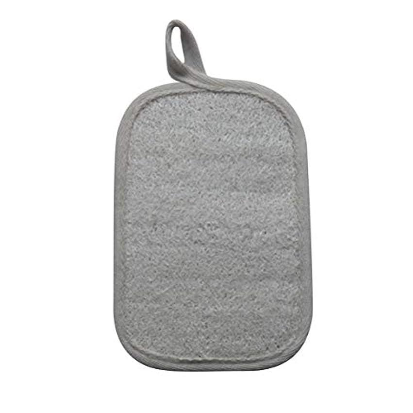 ポイント普通に報酬のHealifty シャワーのための自然なLoofahのスポンジパッドの風呂の剥離のスポンジのスクラバーのブラシ