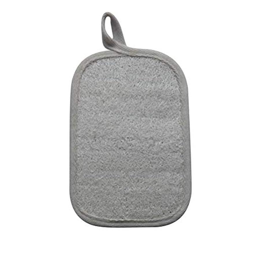 部門休眠受粉するSUPVOX Loofahスポンジパッド剥離スクラブスポンジバスシャワースクラバーLoofa手袋