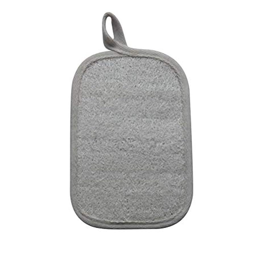軽減財団慎重にHealifty シャワーのための自然なLoofahのスポンジパッドの風呂の剥離のスポンジのスクラバーのブラシ