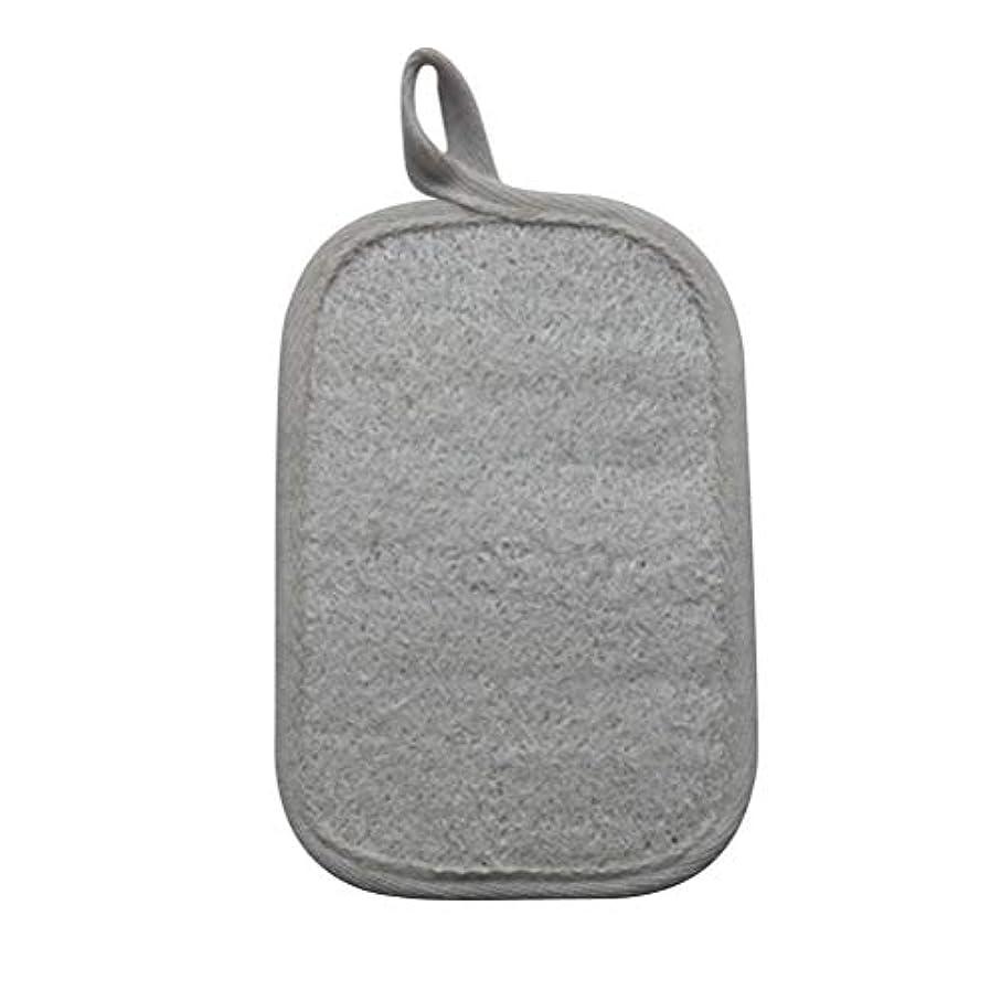 出版浸した険しいHEALIFTY シャワーのための自然なLoofahのスポンジパッドの風呂の剥離Loofahのスポンジのスクラバー