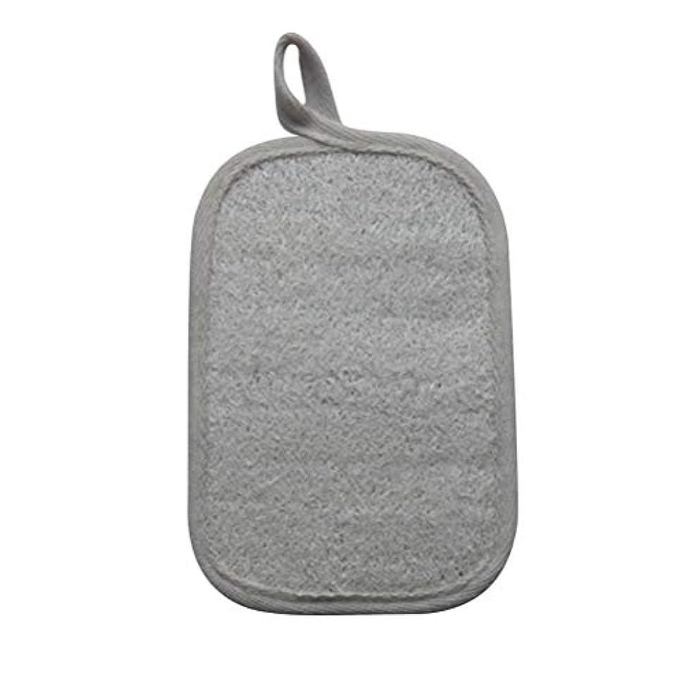 ラダ先にミリメートルHEALIFTY シャワーのための自然なLoofahのスポンジパッドの風呂の剥離Loofahのスポンジのスクラバー