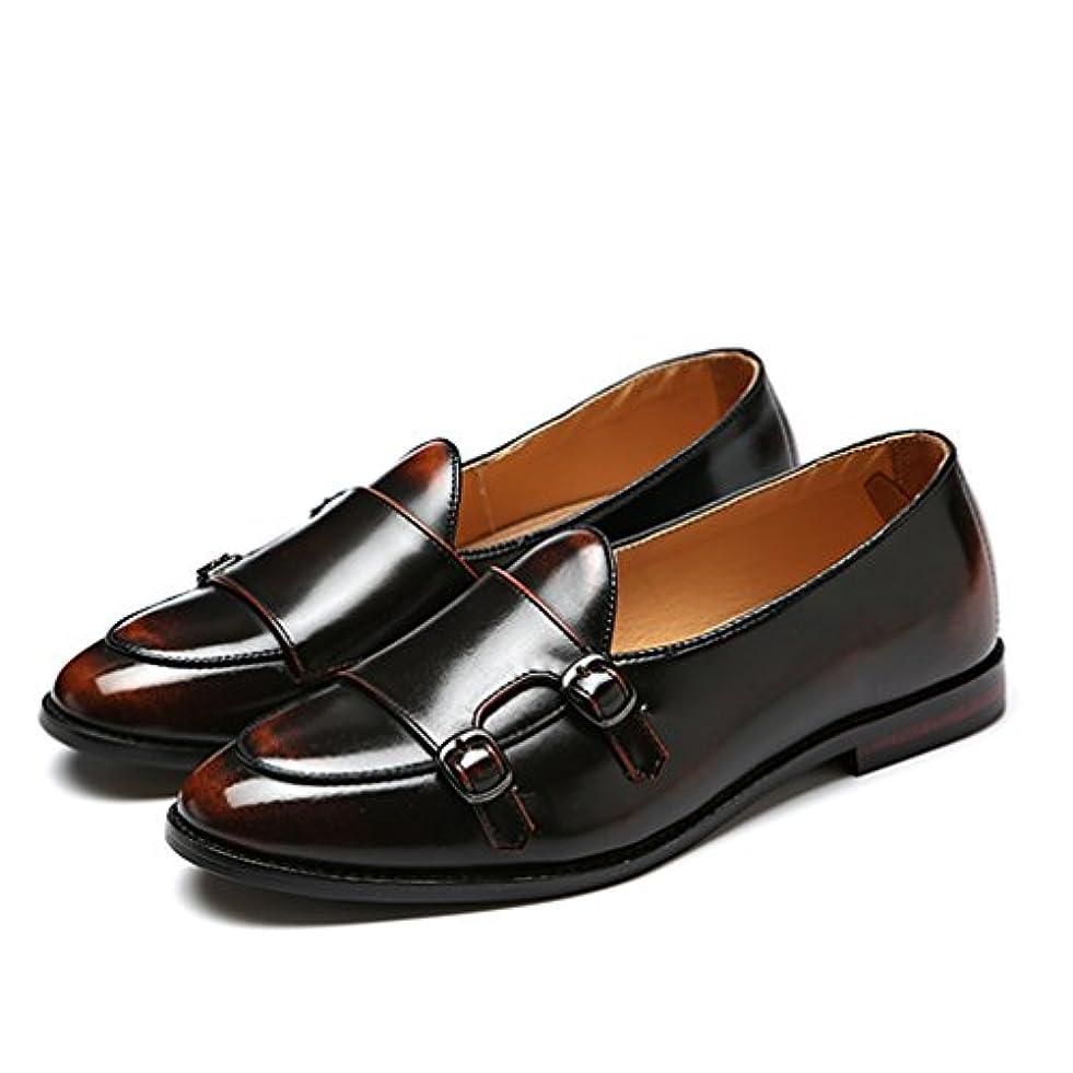 ファブリック特殊かんがい英国風 メンズ ローファー ビジネス シューズ 革靴 ドライビングシューズ スリッポン 合革 puレザー ブーツ ワインレッド ブラック ブラウン 軽量 通気性「イノヤ」