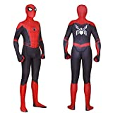 Unisex Lycra Spandex Zentai Halloween 2019 New far from Home New Spiderman Cosplay Costumes Suit Adult/Kids 3D Style