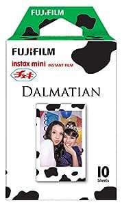 FUJIFILM インスタントカメラ チェキ用フィルム 10枚入 絵柄 (ダルメシアン) チエキフイルム INSTAX MINI DALMATIAN WW 1