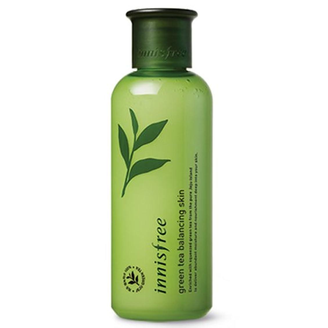 少しバルセロナエアコン[INNISFREE]イニスフリーグリーンティーバランシング スキン200ml green tea balancing skin 200ml
