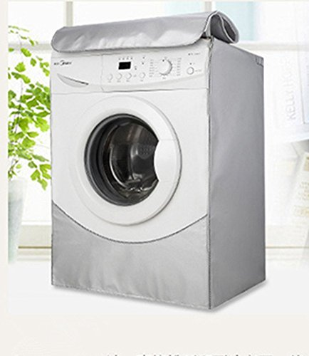Dewel 洗濯機カバー ドラム式洗濯機用 防水 日焼け止め...