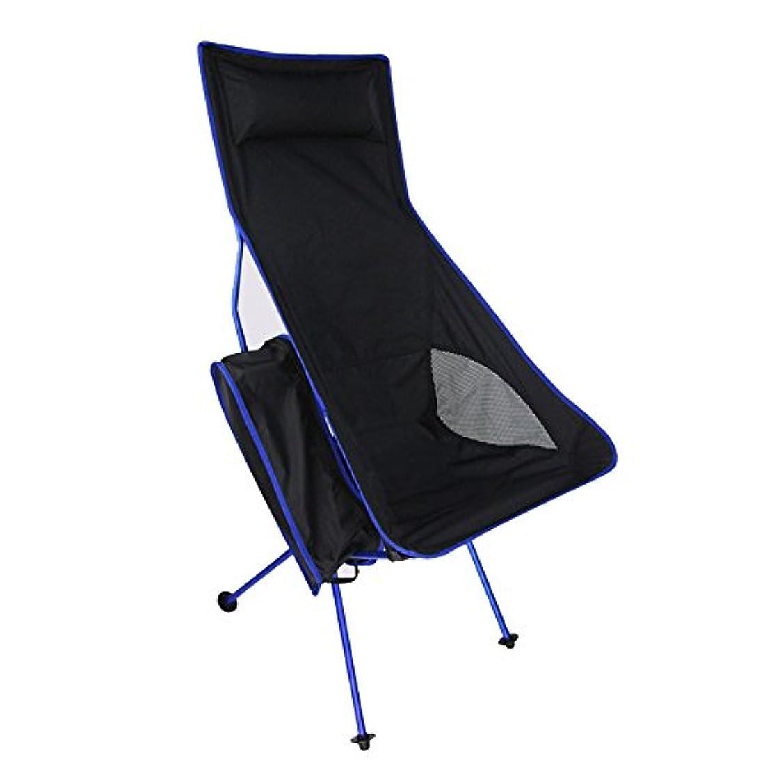 不足法王ルビー屋外の折る携帯用キャンプチェア/アルミ合金の月の椅子、折る設計 アウトドア キャンプ用