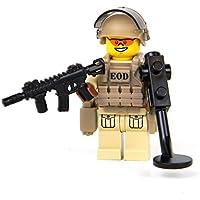 LEGO レゴ カスタム パーツ アーミー 装備品 武器 カスタムフィグ EOD (爆発物処理) 専門員 ミニフィギュア [並行輸入品]