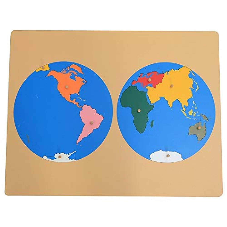 Zhenyu 赤ちゃん玩具 パズル 地図 地球パズル 世界地図 パーツ 早期 子供時代 教育 子供 おもちゃ