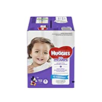 Huggies Little Movers Diapers, Size 4, 112 Count (Packaging May Vary) by Huggies