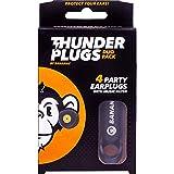 Bananaz 音楽用イヤープロテクター ThunderPlugs DUO Pack(サンダープラグスデュオパック)耳栓