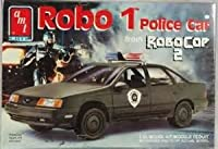 #6059 AMT Robo 1 Police Car from Robo Cop 2 1/25 Scale Plastic Model Kit,Needs Assembly by AMT Ertl