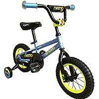 ROCKBROS(ロックブロス) 子供用 自転車 かわいい 12インチ 男の子にも女の子にも小さなお子様も運転しやすいリバースブレーキモデル児童用 お子様のこだわりにもぴったりフィットするカラー4色サイズ4種 合計16バリエーション12インチブルー NEMO12-A ブルー 12インチ