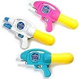 夏のおもちゃをする新しい爆発的な空気の引き水銃子供/大人浜水 ( Color : Pink , Size : S )