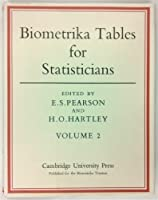 Biometrika Tables for Statisticians: Volume 2