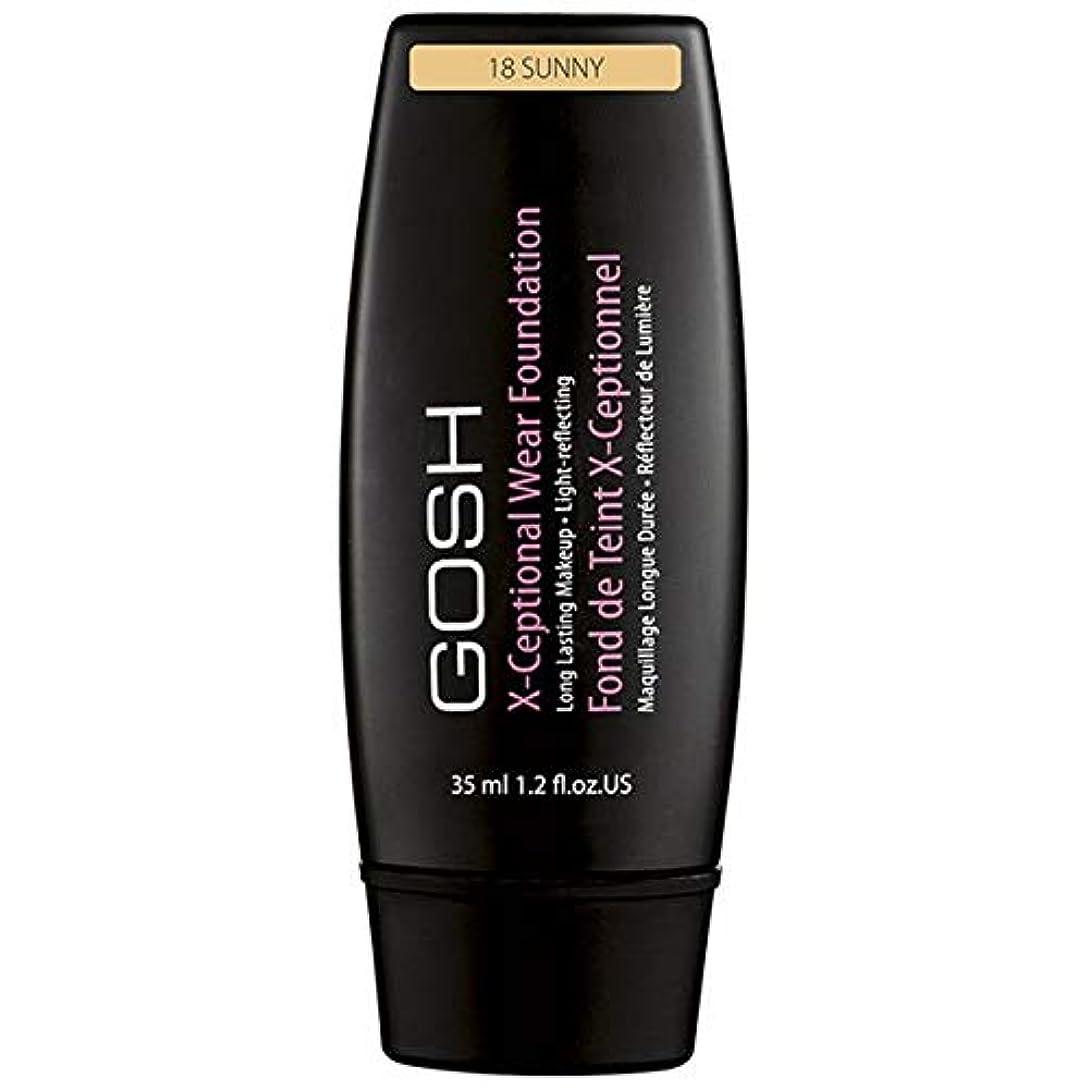 [GOSH ] おやっX-Ceptional摩耗が晴れ18作り上げます - Gosh X-Ceptional Wear Make Up Sunny 18 [並行輸入品]