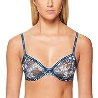 Calvin Klein Women's Sheer Marquisette Unlined Demi Bra