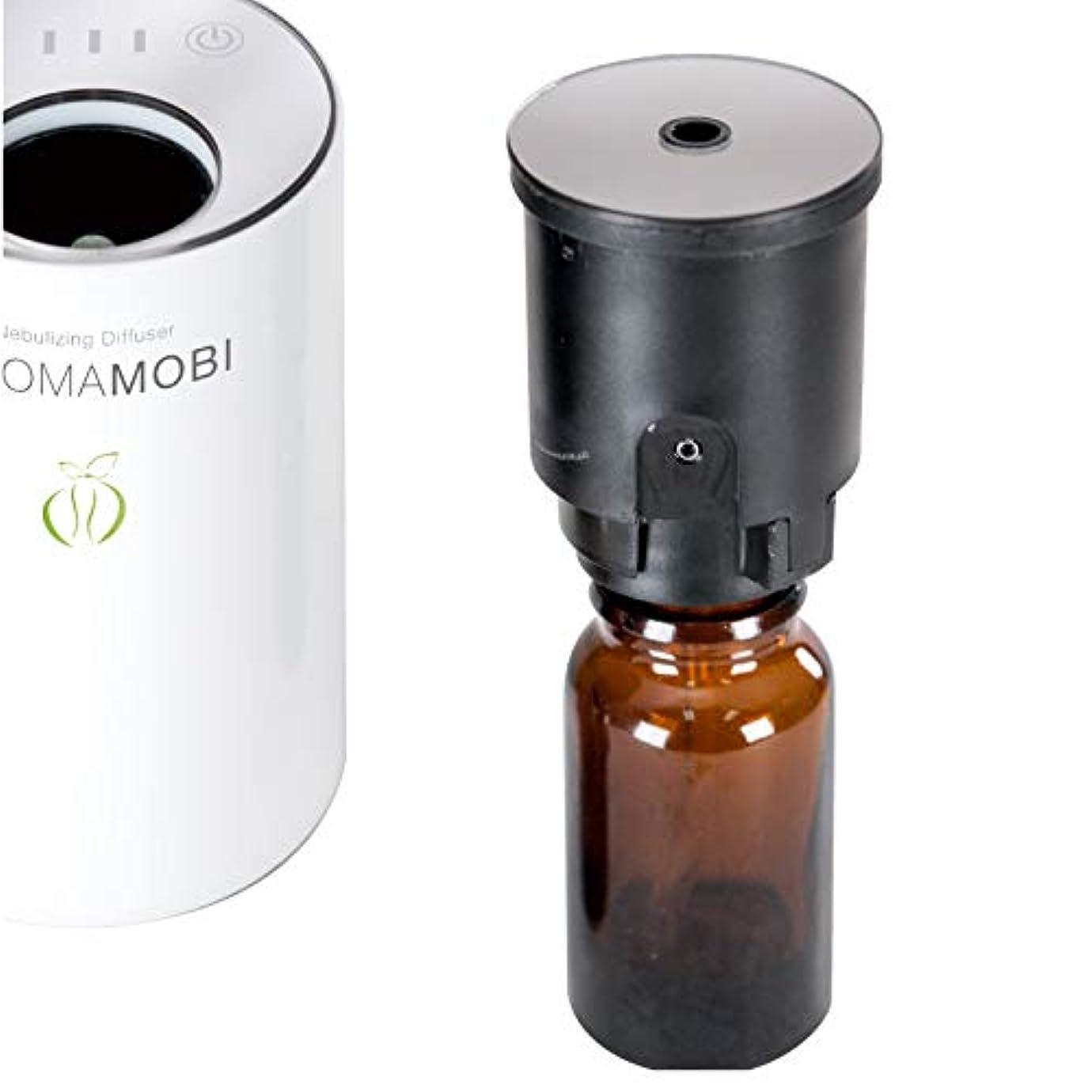 湿度クルー忙しいfunks アロマモビ 専用 交換用 ノズル ボトルセット aromamobi アロマディフューザー