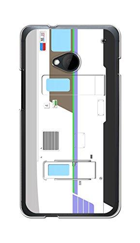 [ カバ鉄 ] HTC J One HTL22 ケース カバー クリア ハード 【電車 024】 au 781系 L特急 ライラック