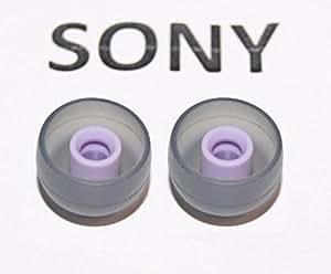 ( 2個1組) ソニーのオリジナルのスイミングパープル447608601イヤピース イヤピース イヤバッズサイズLL ( XL) 防水ヘッドフォン 対応機種NW-WS413 NW-WS414 NWZ-W273 NWZ-W273S