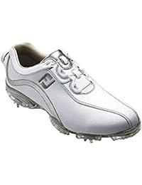フットジョイ Foot Joy 13 WOリールフィットシューズ レディス 93809 ホワイト/シルバー 22.5cm