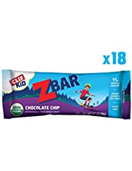 Clif Bar Z Bar for Kids Chocolate Chip 18 bars ?????